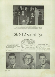 Page 12, 1950 Edition, Dover High School - Doverian Yearbook (Dover, DE) online yearbook collection