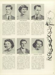 Page 11, 1950 Edition, Mount Pleasant High School - Green Leaf Yearbook (Wilmington, DE) online yearbook collection