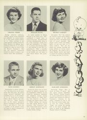 Page 13, 1950 Edition, Mount Pleasant High School - Green Leaf Yearbook (Wilmington, DE) online yearbook collection
