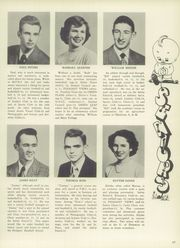 Page 17, 1950 Edition, Mount Pleasant High School - Green Leaf Yearbook (Wilmington, DE) online yearbook collection