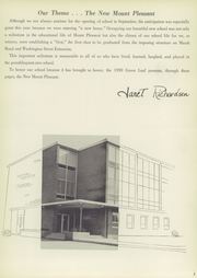Page 11, 1959 Edition, Mount Pleasant High School - Green Leaf Yearbook (Wilmington, DE) online yearbook collection