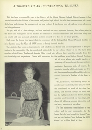 Page 8, 1959 Edition, Mount Pleasant High School - Green Leaf Yearbook (Wilmington, DE) online yearbook collection