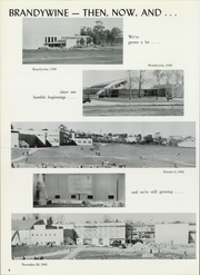 Page 8, 1964 Edition, Brandywine High School - Azurean Yearbook (Wilmington, DE) online yearbook collection