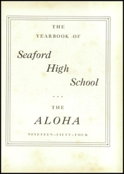 Page 7, 1954 Edition, Seaford High School - Aloha Yearbook (Seaford, DE) online yearbook collection