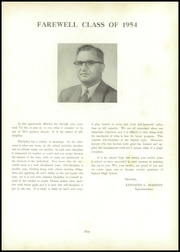 Page 9, 1954 Edition, Seaford High School - Aloha Yearbook (Seaford, DE) online yearbook collection