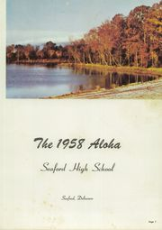Page 5, 1958 Edition, Seaford High School - Aloha Yearbook (Seaford, DE) online yearbook collection