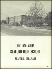 Page 5, 1959 Edition, Seaford High School - Aloha Yearbook (Seaford, DE) online yearbook collection