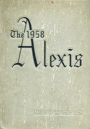 Alexis I DuPont High School - Alexis Yearbook (Wilmington, DE) online yearbook collection, 1958 Edition, Page 1