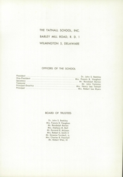 Page 9, 1957 Edition, Tatnall School - Triangle Yearbook (Wilmington, DE) online yearbook collection