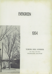 Page 7, 1954 Edition, Tower Hill School - Evergreen Yearbook (Wilmington, DE) online yearbook collection