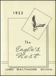 Page 7, 1953 Edition, Lord Baltimore High School - Eagles Nest Yearbook (Ocean View, DE) online yearbook collection