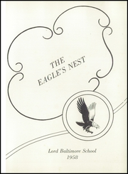 Page 5, 1958 Edition, Lord Baltimore High School - Eagles Nest Yearbook (Ocean View, DE) online yearbook collection