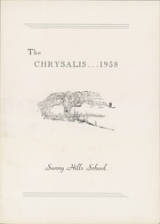 Page 7, 1938 Edition, Sanford Preparatory School - Chrysalis Yearbook (Hockessin, DE) online yearbook collection