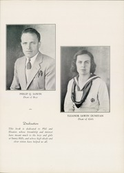 Page 9, 1938 Edition, Sanford Preparatory School - Chrysalis Yearbook (Hockessin, DE) online yearbook collection
