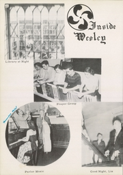Page 16, 1951 Edition, Wesley College - Eukairia Yearbook (Dover, DE) online yearbook collection