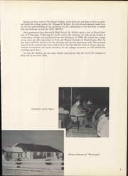 Page 13, 1955 Edition, The Kings College - Crown Yearbook (New Castle, DE) online yearbook collection