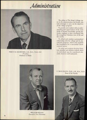 Page 14, 1955 Edition, The Kings College - Crown Yearbook (New Castle, DE) online yearbook collection