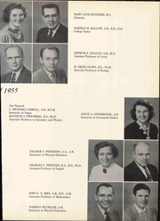 Page 17, 1955 Edition, The Kings College - Crown Yearbook (New Castle, DE) online yearbook collection