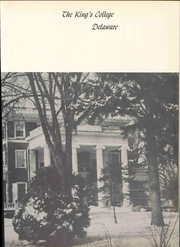Page 9, 1955 Edition, The Kings College - Crown Yearbook (New Castle, DE) online yearbook collection
