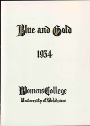 Page 9, 1934 Edition, University of Delaware Womens College - Blue and Gold Yearbook (Newark, DE) online yearbook collection