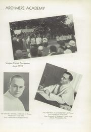 Page 11, 1942 Edition, Archmere Academy - Patio Yearbook (Claymont, DE) online yearbook collection