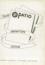 Page 7, 1942 Edition, Archmere Academy - Patio Yearbook (Claymont, DE) online yearbook collection