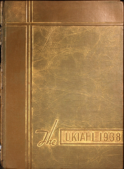 Ukiah High School - Wildcat Yearbook (Ukiah, CA) online yearbook collection, 1938 Edition, Page 1