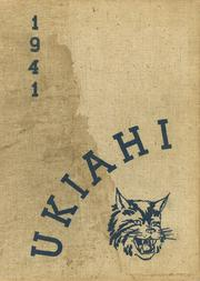 Ukiah High School - Wildcat Yearbook (Ukiah, CA) online yearbook collection, 1941 Edition, Page 1