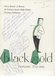 Page 5, 1959 Edition, Ventura High School - Black Gold Yearbook (Ventura, CA) online yearbook collection