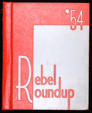 1954 Edition, William B Travis High School - Round Up Yearbook (Austin, TX)