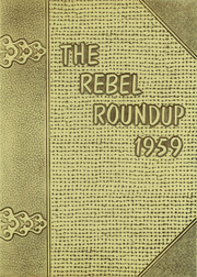 1959 Edition, William B Travis High School - Round Up Yearbook (Austin, TX)