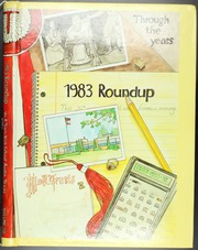 1983 Edition, William B Travis High School - Round Up Yearbook (Austin, TX)