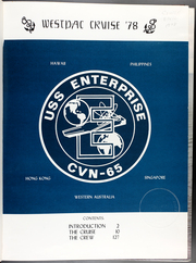 Page 5, 1978 Edition, USS Enterprise (CVN 65) - Naval Cruise Book online yearbook collection