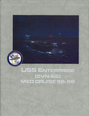 Page 1, 1999 Edition, USS Enterprise (CVN 65) - Naval Cruise Book online yearbook collection
