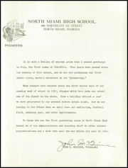 Page 17, 1955 Edition, North Miami Senior High School - Conestoga Yearbook (North Miami, FL) online yearbook collection