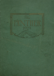 Page 1, 1929 Edition, H B Plant High School - Panther Yearbook (Tampa, FL) online yearbook collection