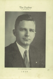 Page 13, 1929 Edition, H B Plant High School - Panther Yearbook (Tampa, FL) online yearbook collection