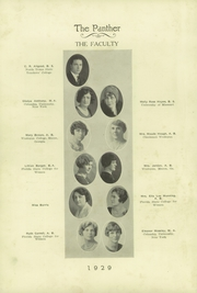 Page 14, 1929 Edition, H B Plant High School - Panther Yearbook (Tampa, FL) online yearbook collection