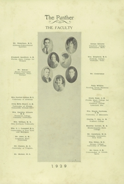 Page 15, 1929 Edition, H B Plant High School - Panther Yearbook (Tampa, FL) online yearbook collection