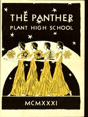 Page 5, 1931 Edition, H B Plant High School - Panther Yearbook (Tampa, FL) online yearbook collection