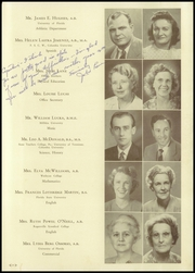 Page 13, 1949 Edition, H B Plant High School - Panther Yearbook (Tampa, FL) online yearbook collection