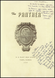 Page 5, 1949 Edition, H B Plant High School - Panther Yearbook (Tampa, FL) online yearbook collection
