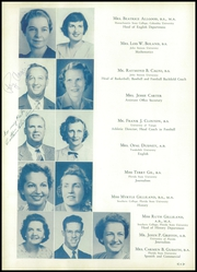 Page 12, 1950 Edition, H B Plant High School - Panther Yearbook (Tampa, FL) online yearbook collection