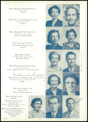 Page 13, 1950 Edition, H B Plant High School - Panther Yearbook (Tampa, FL) online yearbook collection