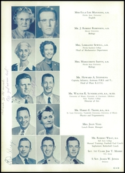 Page 14, 1950 Edition, H B Plant High School - Panther Yearbook (Tampa, FL) online yearbook collection