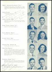 Page 17, 1950 Edition, H B Plant High School - Panther Yearbook (Tampa, FL) online yearbook collection