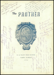 Page 5, 1950 Edition, H B Plant High School - Panther Yearbook (Tampa, FL) online yearbook collection
