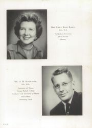 Page 15, 1953 Edition, H B Plant High School - Panther Yearbook (Tampa, FL) online yearbook collection