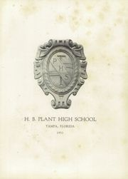Page 5, 1953 Edition, H B Plant High School - Panther Yearbook (Tampa, FL) online yearbook collection