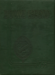Page 1, 1953 Edition, Boone High School - Boone Legend Yearbook (Orlando, FL) online yearbook collection